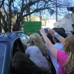 Paparazzi Getting Last Shots of Grumpy Cat at SXSW